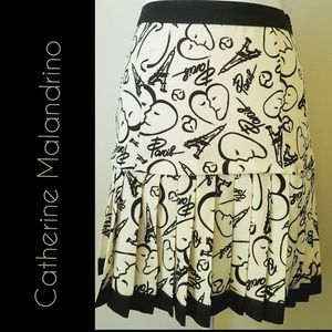 Catharine Malandrino Design Nation Skirt Sz 2